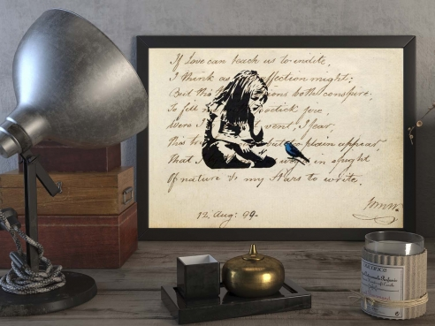 Love and Poetry - FineArt-Poster