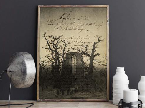 Abtei im Eichwald - FineArt-Poster