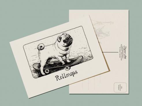 Postcard - Rollmops