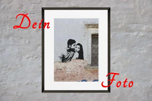 Your photo as graffiti