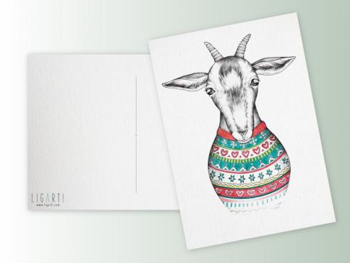 Postkarte - Reinhold