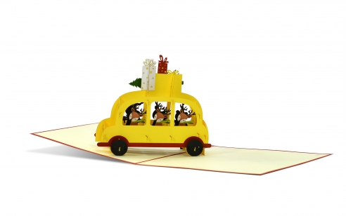 3D PopUp Karte - Geschenketaxi