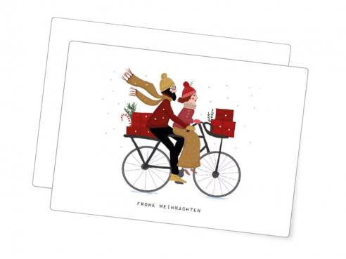 Postkarte - Weihnachts-Tour