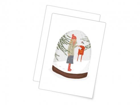 Postkarte - Weihnachtspost