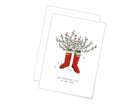 Postkarte - Wonderful Time