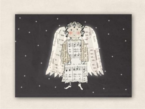 Postkarte - Engel