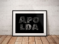 Preview: City Poster Apolda