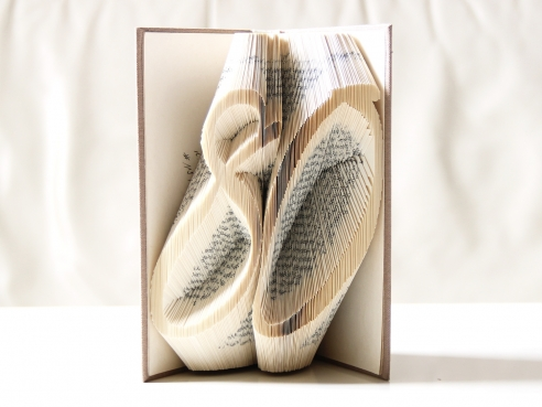 Anniversary in the book - Folded Book