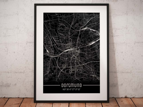 Dortmund City Map