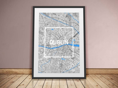 Dublin Framed City