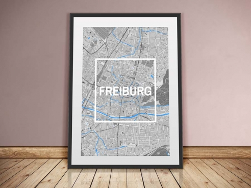 Freiburg Framed City