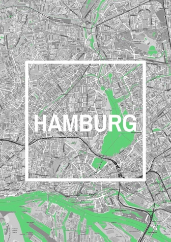Hamburg Framed City