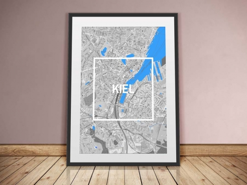 Kiel Framed City