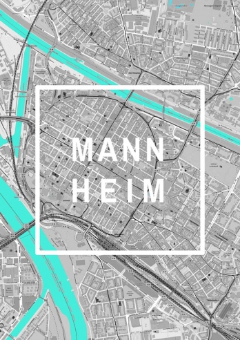 Mannheim Framed City