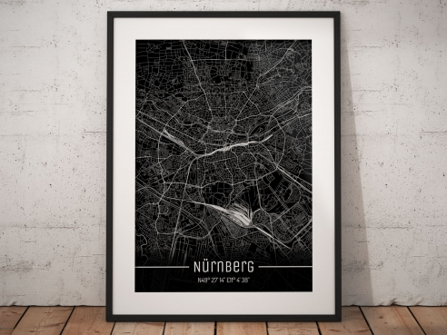 Nuremberg City Map