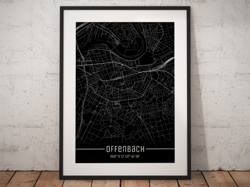 Offenbach City Map