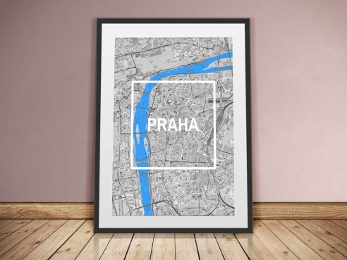 Prag Framed City
