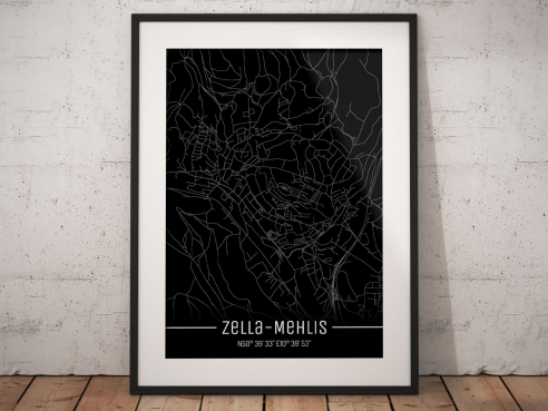 Zella-Mehlis City Map