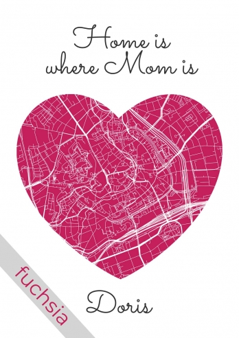 Poster - Home is where MOM is