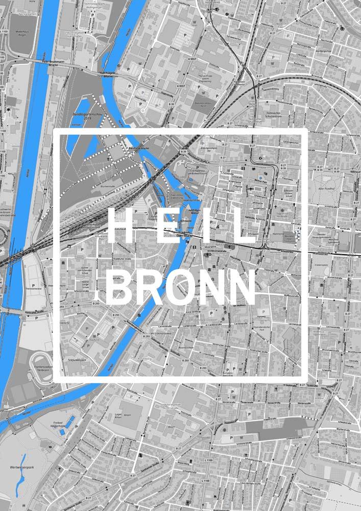 Heilbronn Karte Stadtplan.Heilbronn Karte Stadtplan