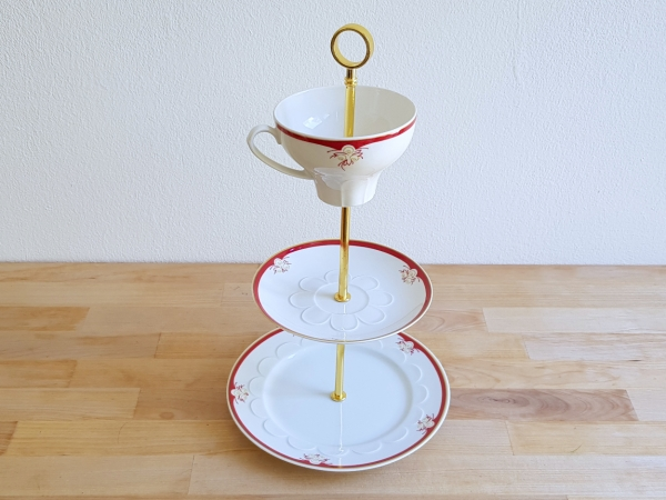 Etagere coffee service