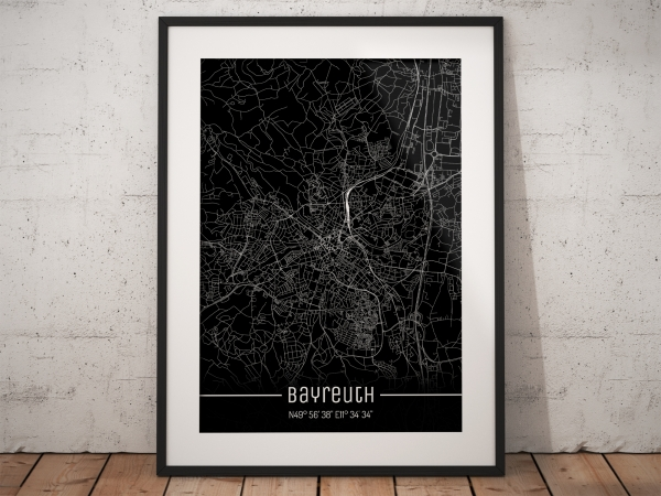 Bayreuth City Map