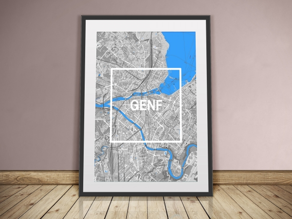Genf Framed City