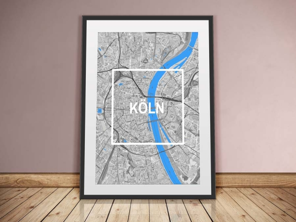Cologne Framed City