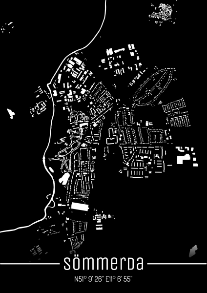 Sömmerda City Map